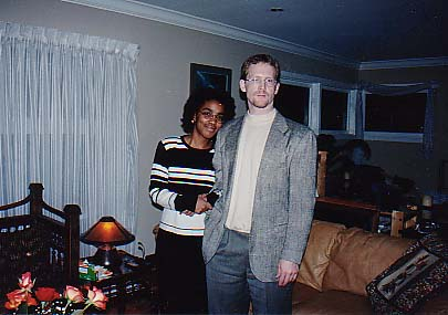 Larry & Michelle at home